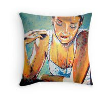 Alicia at 24 Throw Pillow