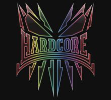 Hardcore TShirt - Rainbow LightEdge by Coreper
