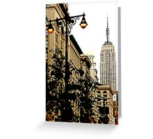 5th Avenue, New York City Greeting Card