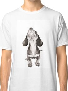 Funny dachshund with a big nose Classic T-Shirt