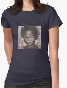 Muddied Dreams Womens Fitted T-Shirt
