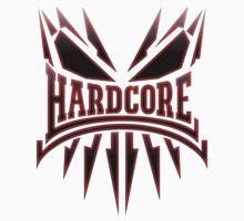 Hardcore TShirt - Red DarkEdge by Coreper