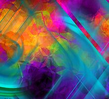 The Color Of My Love Live-Abstract  Art + Products Design  by haya1812