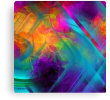 The Color Of My Love Live-Abstract  Art + Products Design  Canvas Print