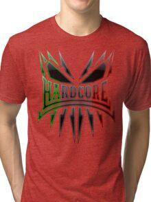 Hardcore TShirt - IT DarkEdge Tri-blend T-Shirt