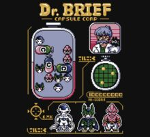 Dr. Brief (Black T-shirt Only) by pixelpowerluke