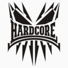 Hardcore TShirt - Black by Coreper