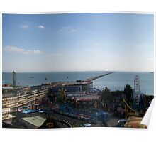 southend pier and peter pans Poster