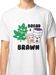 Bread & Brawn Kawaii Drugs Weed Pills Lean Funny Japanese Brawn & Bread Original Classic T-Shirt