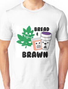 Bread & Brawn Kawaii Drugs Weed Pills Lean Funny Japanese Brawn & Bread Original Unisex T-Shirt