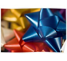 Holiday Gift Bows Poster