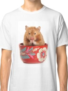Funny red-haired hamster Classic T-Shirt