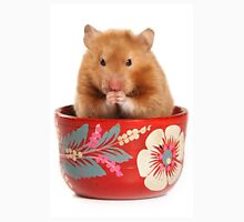Funny red-haired hamster Unisex T-Shirt
