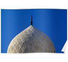 Dome of Abu al-Abbas Mosque, Alexandria, Egypt  Poster