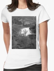 white & black (Wien)  Womens Fitted T-Shirt