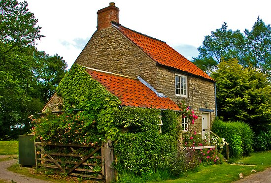 Country Cottage - Nunnington by Trevor Kersley