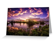 Acres of Sky Greeting Card