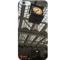 Tick Tock The Time Flys By. iPhone Case/Skin