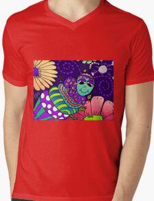 Spring Night in Mo's Garden Mens V-Neck T-Shirt