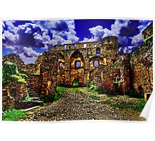 Rheinfels Castle Germany Fine Art Print Poster