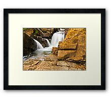 Ticonderoga Waterfalls Framed Print