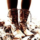 Autumn Boots by Ely Prosser