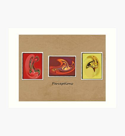 Perceptions Art Print