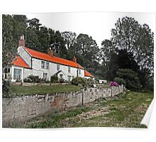 On The Banks Of The River Tweed Poster