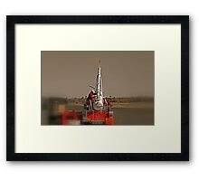 The Pumpkin Cannon Framed Print