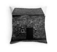 Stone Building - Warwickshire Throw Pillow