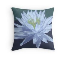 Black Water Beauty Throw Pillow
