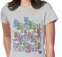 """Human Genome Double Helix""© Womens Fitted T-Shirt"