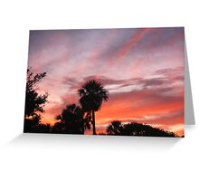 St. Augustine sunsets Greeting Card