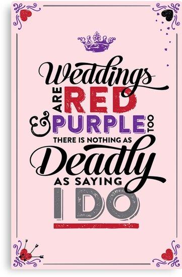 Deadly Weddings by JenSnow