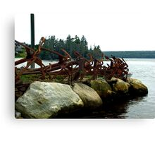 Anchors Ashore Canvas Print