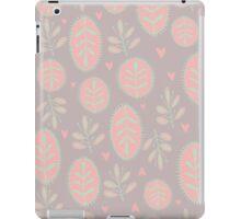 Color Floral Pattern iPad Case/Skin