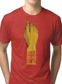 Golden Hand the Just Tri-blend T-Shirt