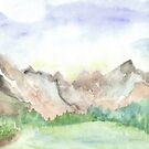 Mountains by Carolyn Leete