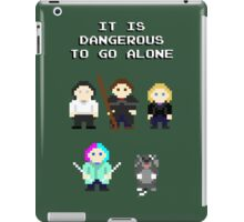 Team Dresden: It is dangerous to go alone iPad Case/Skin