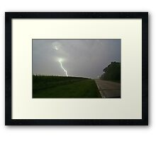Ripping through the Sky! Framed Print