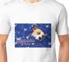Cradled by a Blanket of Stars and Stripes - Quote Unisex T-Shirt