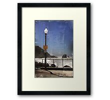 Look Out For Waves Framed Print