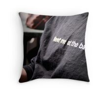 Party Invitation Throw Pillow