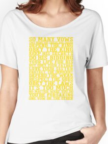 So Many Vows Women's Relaxed Fit T-Shirt