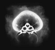Larva Specimen X-Ray B&W by Scars1023