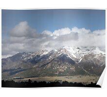 Ben Lomond Peak ~ First Snow of the Season Poster