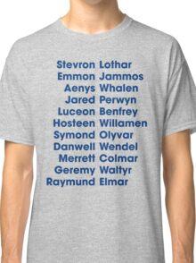 The 22 Trueborn sons of Walder Frey Classic T-Shirt