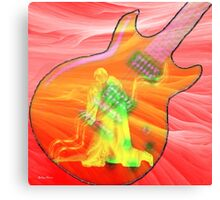 Spanish guitar-  Art + Products Design  Canvas Print