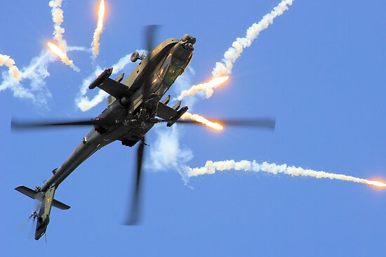 AH64 Apache by airwolfhound