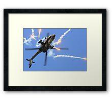 AH64 Apache Framed Print